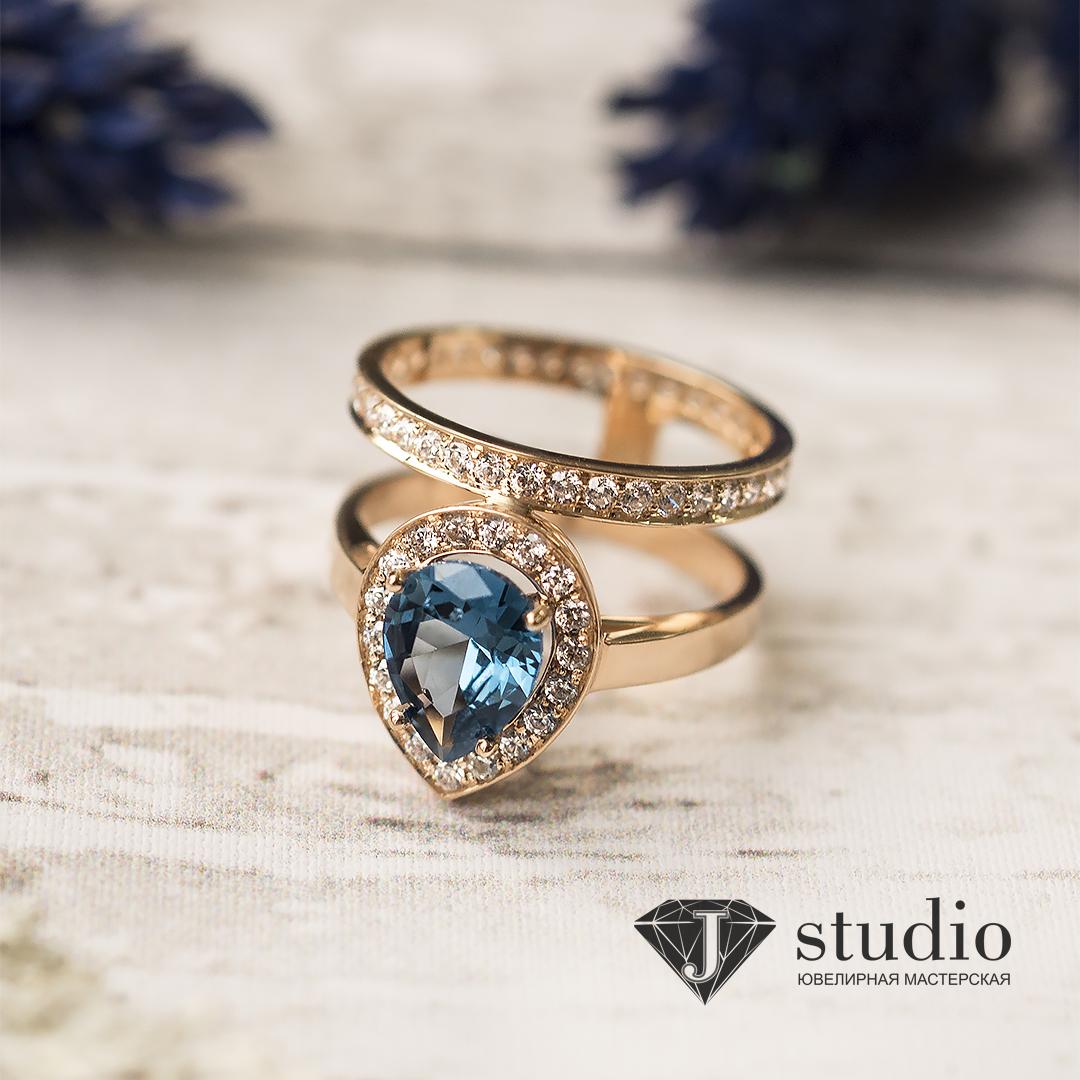 Увеличение золотого кольца