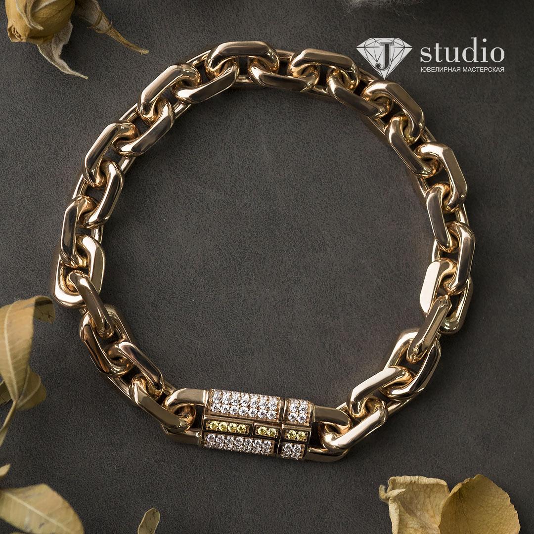 Переплавка золота в цепочку или браслет