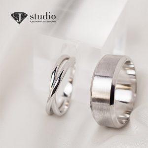 Изготовленные серебряные кольца в Минске
